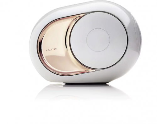 DEVIALET Gold Phantom sound system speaker