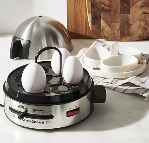 CHEF'S CHOICE Egg Cooker is brilliant