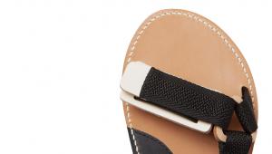 HENDER SCHEME Leather Webbing Sandals