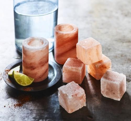 Himalayan Salt Shot Glasses Set