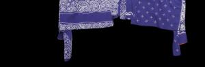 KAPITAL Elephant Dot Gauze Bandana Big Western Shirt