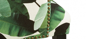 CB2 Exclusive: Reynolds Banana Leaf Print Chair