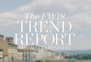 FEATURE VIDEO: NET A PORTER Fall Trend Report with Diletta Bonaiuti