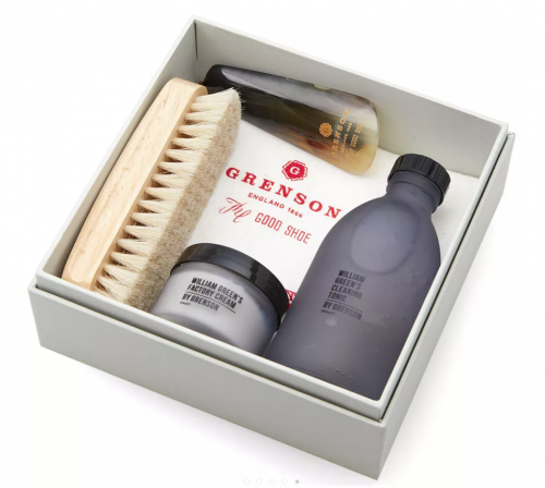 GRENSON X WILLIAM GREEN Shoes Cleaning Kit