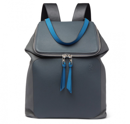 MR PORTER exclusive LOEWE Goya Leather Backpack