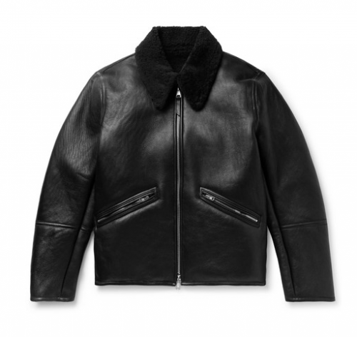 OUR LEGACY Beautiful Shearling Bomber Jacket