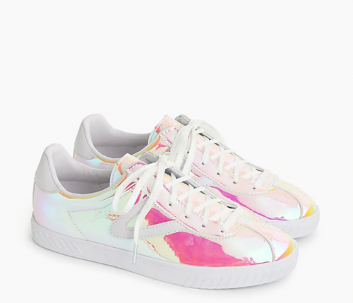 Women's Tretorn® for J.Crew Holographic Camden sneakers