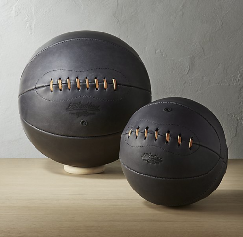 LEATHER HEAD SPORTS navy leather basketballs