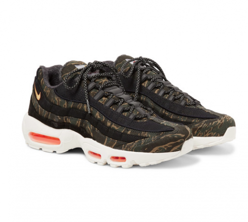 NIKE X CARHARTT Air Max 95 Camouflage Ripstop Sneakers