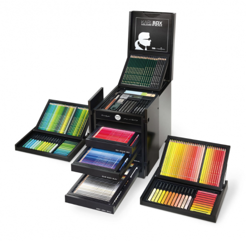 KARLBOX from Karl Lagerfeld and Faber-Castell