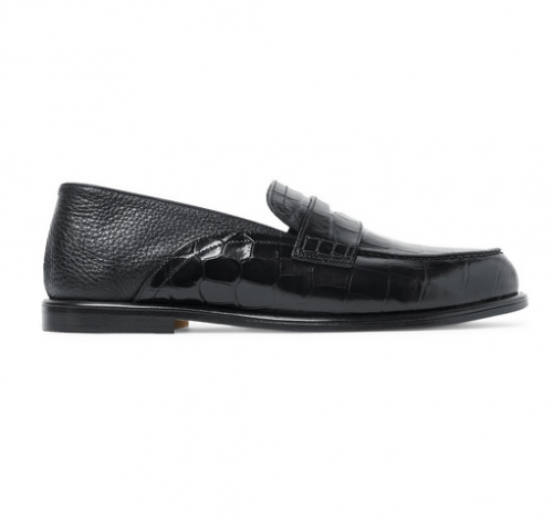 LOEWE Collapsible Heel  Penny Loafer