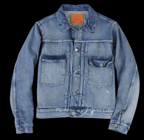 LEVI'S VINTAGE CLOTHING 1953 TYPE II JACKET IN SOLAR
