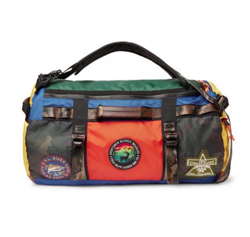 POLO RALPH LAUREN  Color Block Nylon Duffle Bag