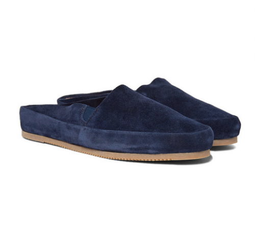 EXCLUSIVE Mr. Porter X MULO Suede Backless Loafers