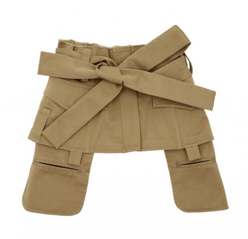 SSENSE Exclusive Tan 4 Pocket Army Corset Belt